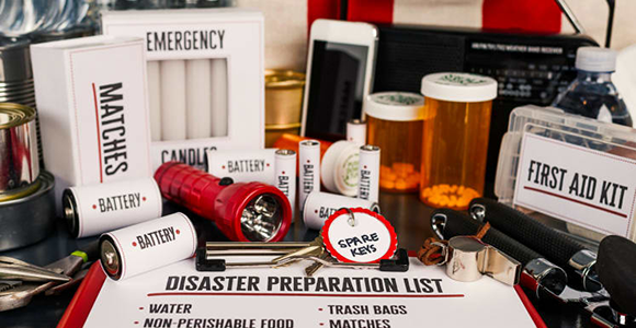 Prepare for disaster with your own Disaster Kit