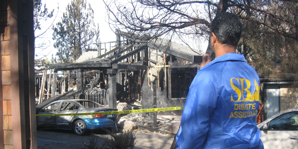State Technical Assessment & Response Team Assess damage to burnt home
